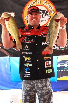 Pro angler Rusty Brown 2013 WON BASS US OPEN Champion